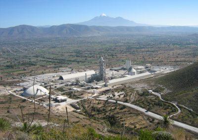 Nueva línea de cemento. Puebla (México)