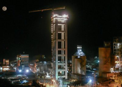 Nueva línea de cemento. Choloma (Honduras)