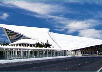 Aeropuerto de Bilbao. País Vasco (España)