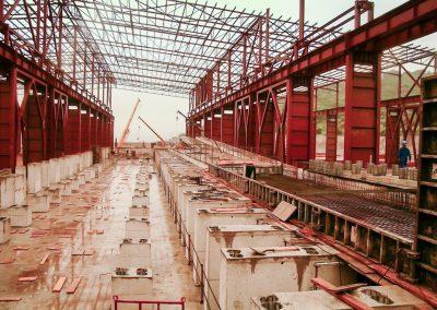 PLANTA SIDERÚRGICA. Ampliación de planta siderúrgica. Jerez de los Caballeros (España)
