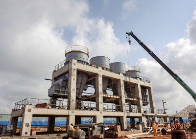 Planta de producción de 3.600 tpd cemento. Benín (África)