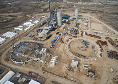 PLANTA DE CEMENTO. Nueva línea producción de Cemento. Oruro (Bolivia)