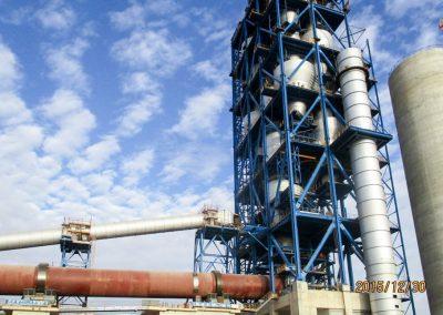 BISKRA. Línea Producción de Cemento 5000 tpd. Biskra (Argelia)