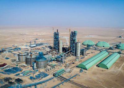YAMAMA II. Líneas de producción de clínker 10.000 tpd. Riyadh (Arabia Saudita)